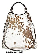 Painted Valley Farm cowhide bag