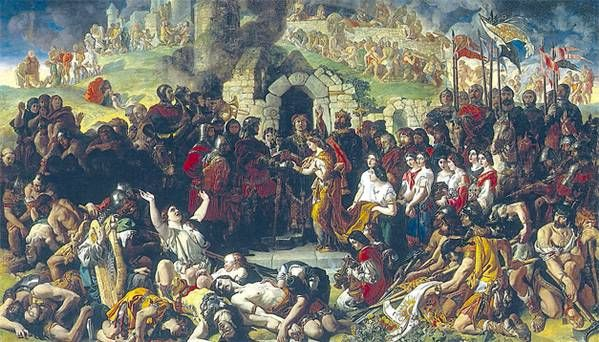 'The Marriage of Strongbow and Aoife' by Daniel Maclise, housed at the National Gallery of Ireland, depicts our loss of sovereignty to the Norman conqueror of Ireland