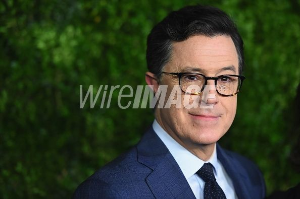 Stephen Colbert attends the MoMA Film Benefit presented by CHANEL, A Tribute To Tom Hanks at MOMA on November 15, 2016 in New York City. (Photo by Nicholas Hunt/WireImage)