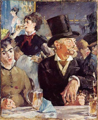 Эдуард Мане. «Концерт в кафе». 1879 г.