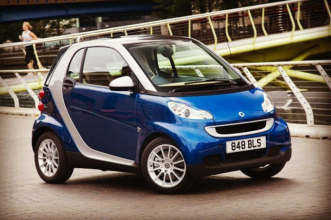 So Blue Today #blue #smart #fortwo #city #car