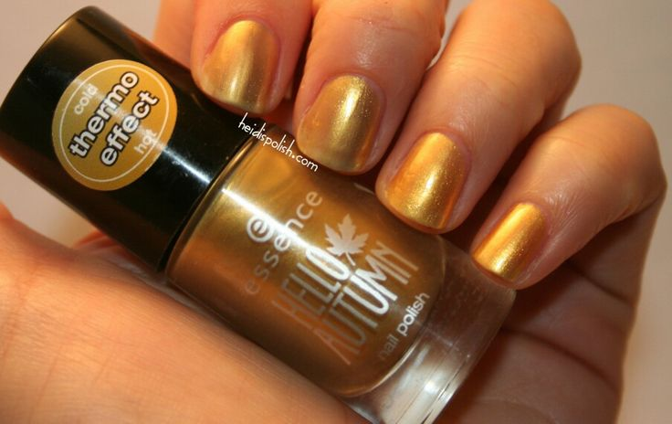 Essence Hello Autumn Trend Edition Nail Polish With Thermo Effekt 05 Autumn  U0026 The City   Http://heidispolish.com/essence Autumn City/ | Pinterest