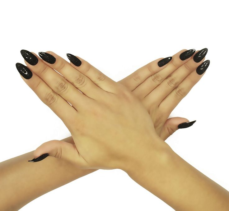 """Black Maven"" – NAILHUR - Reusable & Renewable Snap On Manicures in Seconds!"