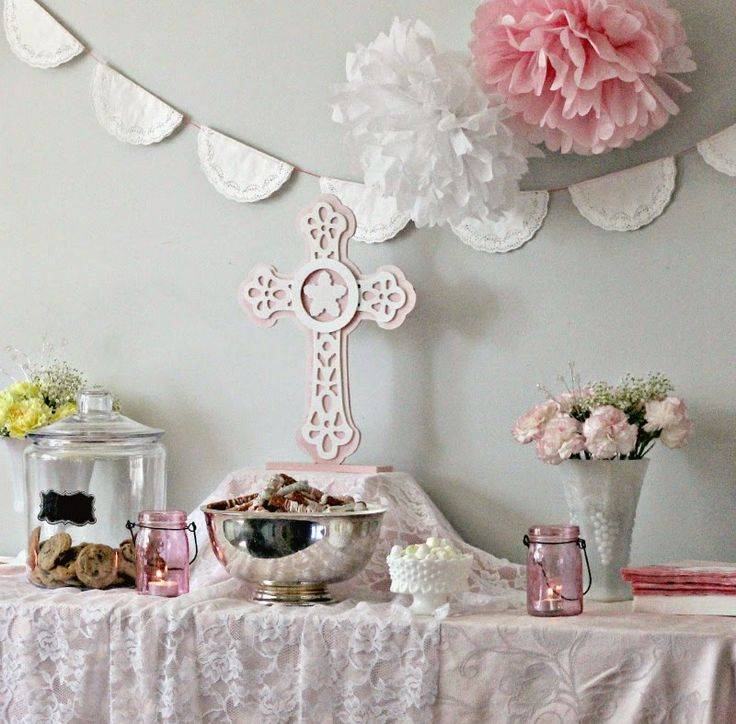 Best 25 first communion decorations ideas on pinterest for 1st holy communion cake decoration ideas