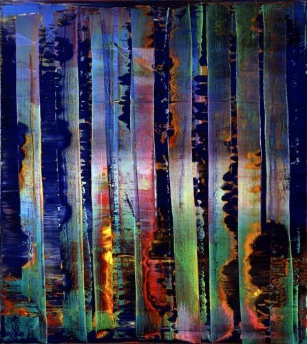 Gerhard Richter Abstraktes Bild  Abstract Painting  1992  92 cm x 82 cm  Oil on canvas  Catalogue Raisonné: 776-2