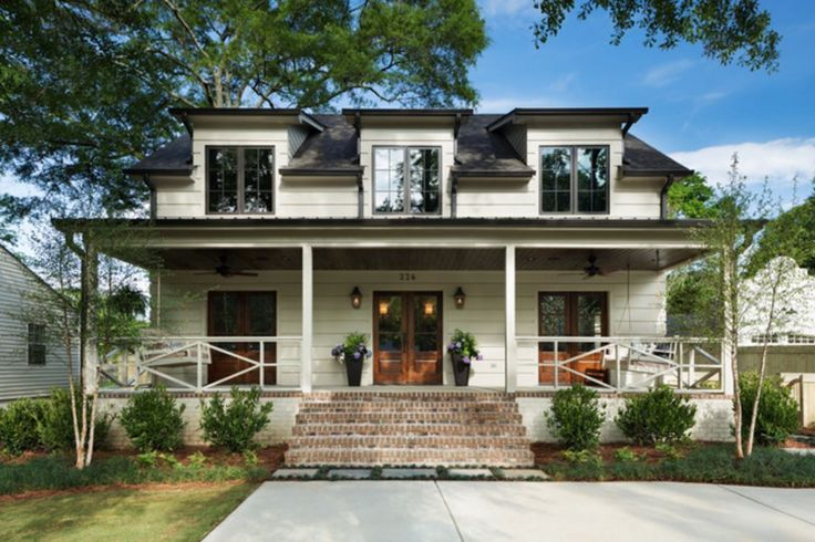 An elegant farmhouse provides plenty of space for a growing Alabama family.