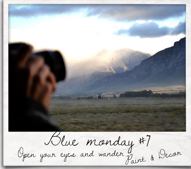 All the magic you need is here, right in sight. We may travel places to expand the imagery, but it will never bring us joy if we cannot see the marvels all around us. Just open your eyes, turn your face to the Light and be witness to wonders xxx Have a wonderfilled Blue Monday #bluemonday #paintdecor #verbeeldingstudio