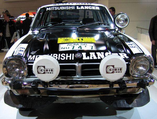 1976 Mitsubishi Colt Lancer 1600