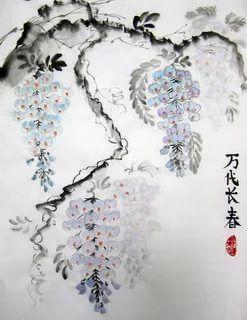 глициния китайская живопись: 17 тыс изображений найдено в Яндекс.Картинках
