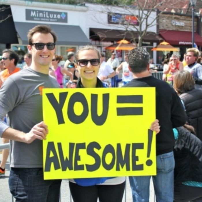Marathons can be tough—but motivation in the form of a sign can be just the boost you need. Check out these 26 to fly through your next 26.2