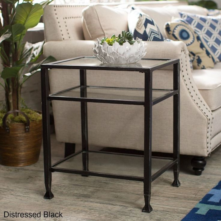 25 Best Ideas About Glass Nightstand On Pinterest Gold