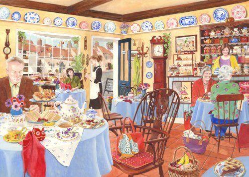 1000 Piece Jigsaw Puzzle - Afternoon Tea The House of Puzzles http://www.amazon.com/dp/B008OXV8HY/ref=cm_sw_r_pi_dp_jk0Bub1X2BQDR