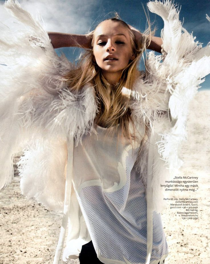 Iszak Eszter for InStyle Hungary June 2012