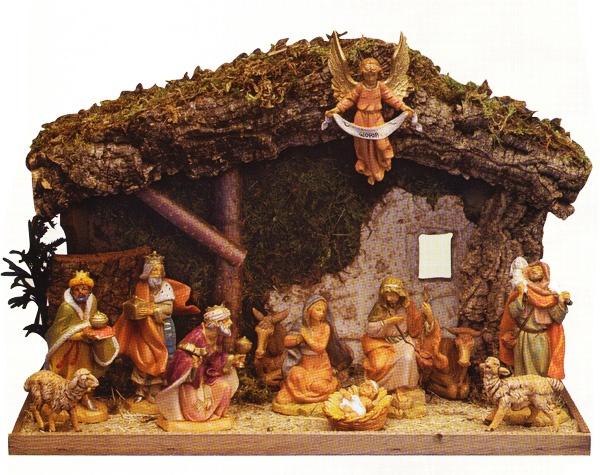 "5"" Fontanini Nativity set"
