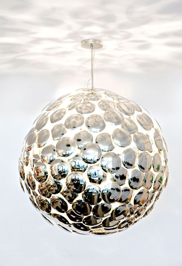 Disc Chandelier featured on Paula Jean interior design Blog! Thank you