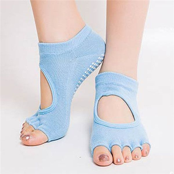 Item specifics: Gender:Women Finger-Separated:Yes Hose Height:Stockings Material:Cotton Color:Grey, Black, Black & Grey, Purple, Yellow, Red, Green Size:one size fits most Packing Includes :1 x pair o