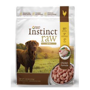 Its always good to have your pet food made by pet owners because they know what its like to be on the look-out for healthy food for their beloved dog or cat! Natures Variety, located in Lincoln, Nebraska, understands that every pet deserves nutrition and love, unconditionally. So with Nature's Variety Instinct Grain-Free Raw Frozen Bites Chicken Formula for Dogs and Cats, your pet can get both in abundance! This raw formula is specifically formulated for rotational feeding and helps your…