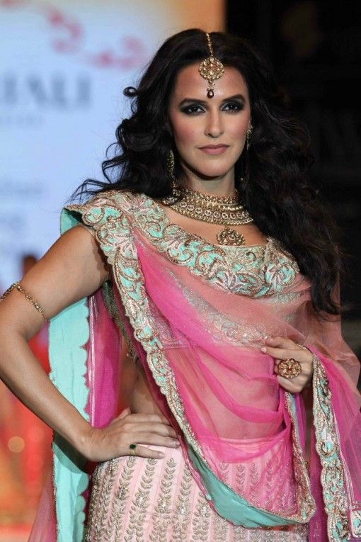neha dhupia gitanjali wedding carnival set at IIJW 2013 via IndianWeddingSite.com