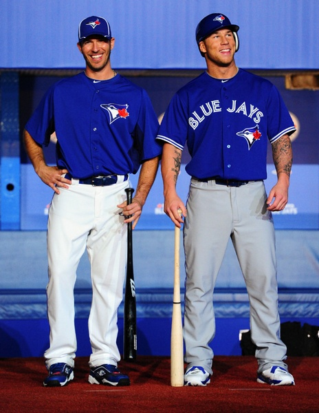 Brett Lawrie and JP Arencibia!