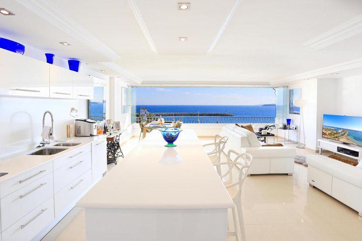 Stunning #luxury #Apartment in Port Portals Nous https://immobiza.com/en/property/14642/stunning-sea-view-port-portals-nous/ #Firstline #Seaview
