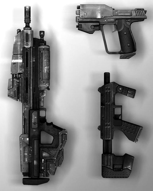 Halo UNSC Weapons
