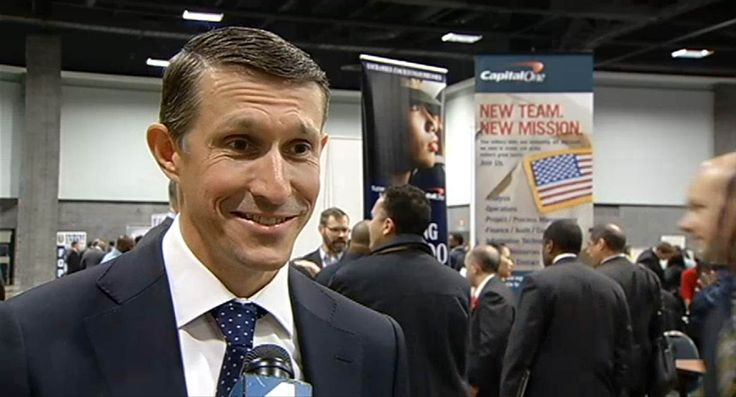 Ben Lamm - Capital One - NBC4 Interview - Molette Green - Hiring our Heroes - DC Convention Center - Jan '16