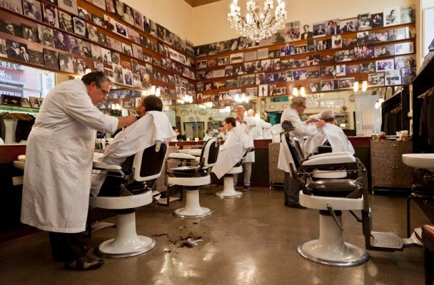 Colla antique Barber shop in Milan - for quirky mustaches and well groomed beards | Bullo an Italian Blog