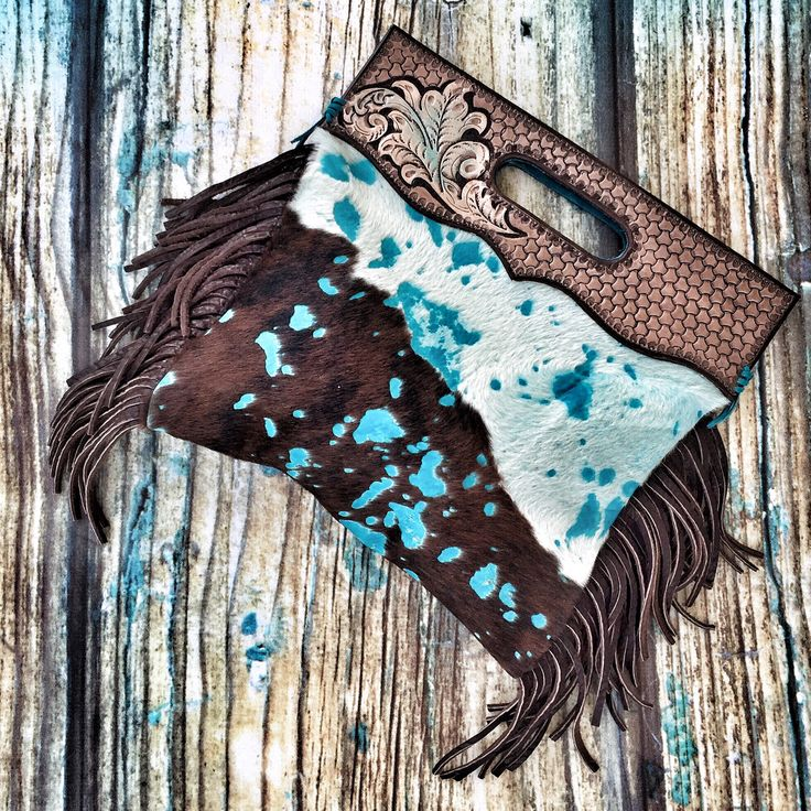 Leather western handbag by ArteVae