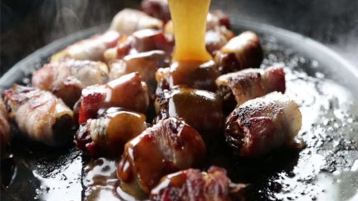 How To Make Bourbon & Bacon-Wrapped Dates: Bourbon & Bacon-Wrapped Dates to die for. Chef Billy Parisi shows us an easy way to make these delicious treats.