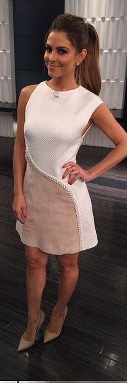 Maria Menounos philip lim dress