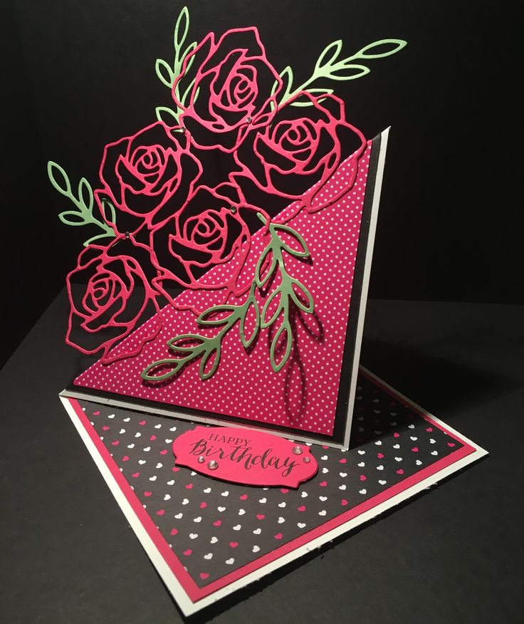 DaisyFlower: Rose Wonder Twisted Easel Card                                                                                                                                                                                 More