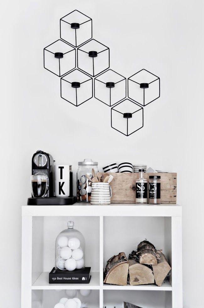 Rincón en la oficina de Katerina Dima | Little*Haus Katerina Dima's coffee break nook