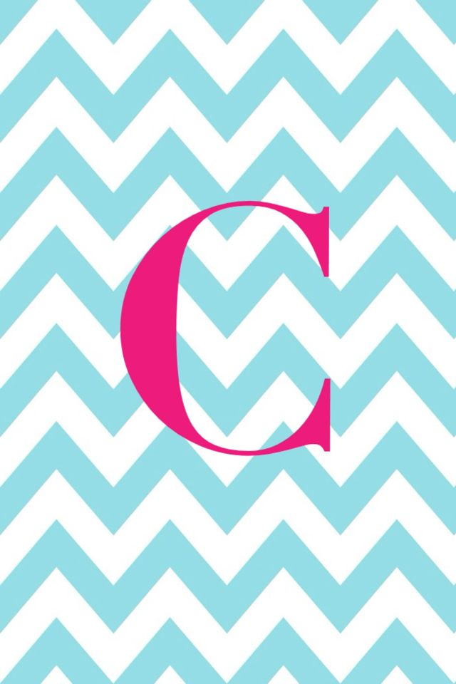 chevron initials wallpaper with o - photo #25