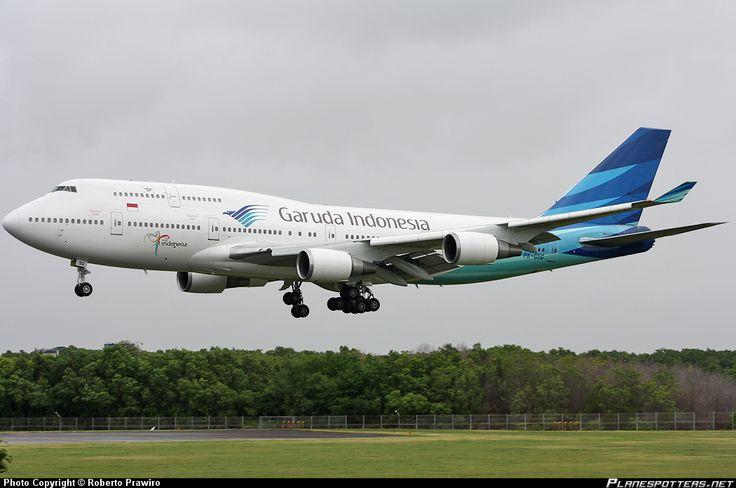 PK-GSG Garuda Indonesia Boeing 747-4U3