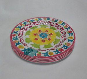 Tropical Melamine Plates   ... Garden > Kitchen, Dining & Bar > Dinnerware & Serving Dishes > Plates