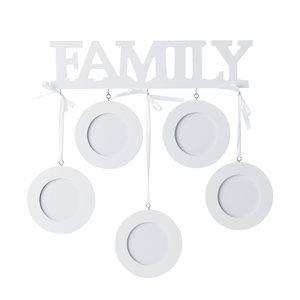"""Bilderamme med plass til fem bilder - """"Family"""""""