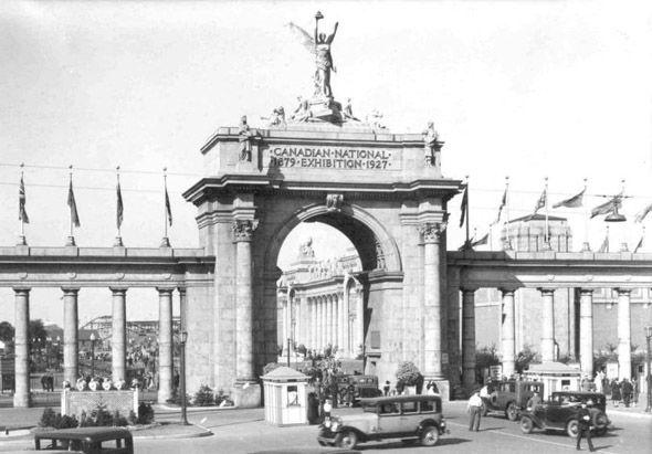 CNE Princes Gates, 1920s