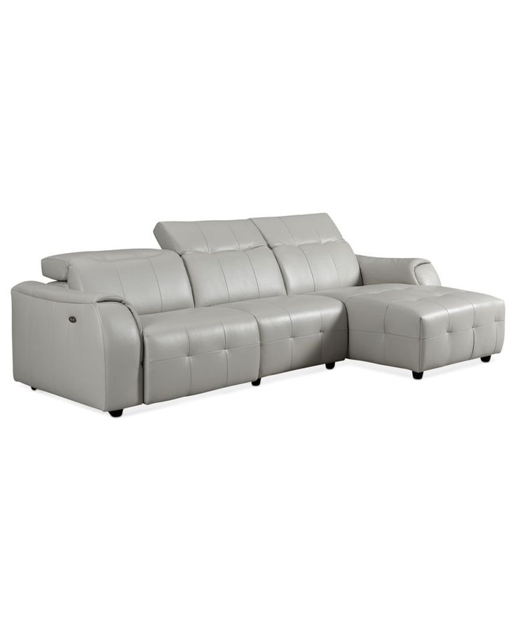 Novara leather reclining sofa 3 piece power recliner for 3 piece leather sectional sofa with chaise