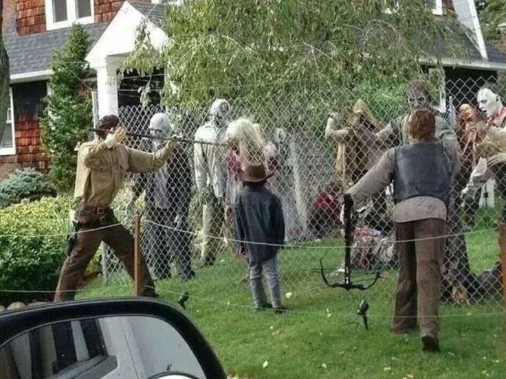funny pictures about walking dead halloween decorations oh and cool pics about walking dead halloween decorations also walking dead halloween - Best Halloween Yard Decorations