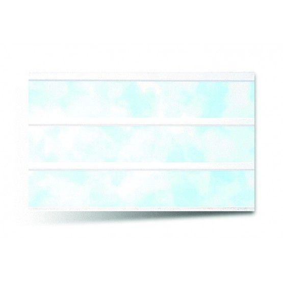 Вагонка ПВХ трехсекционная 242 голубой