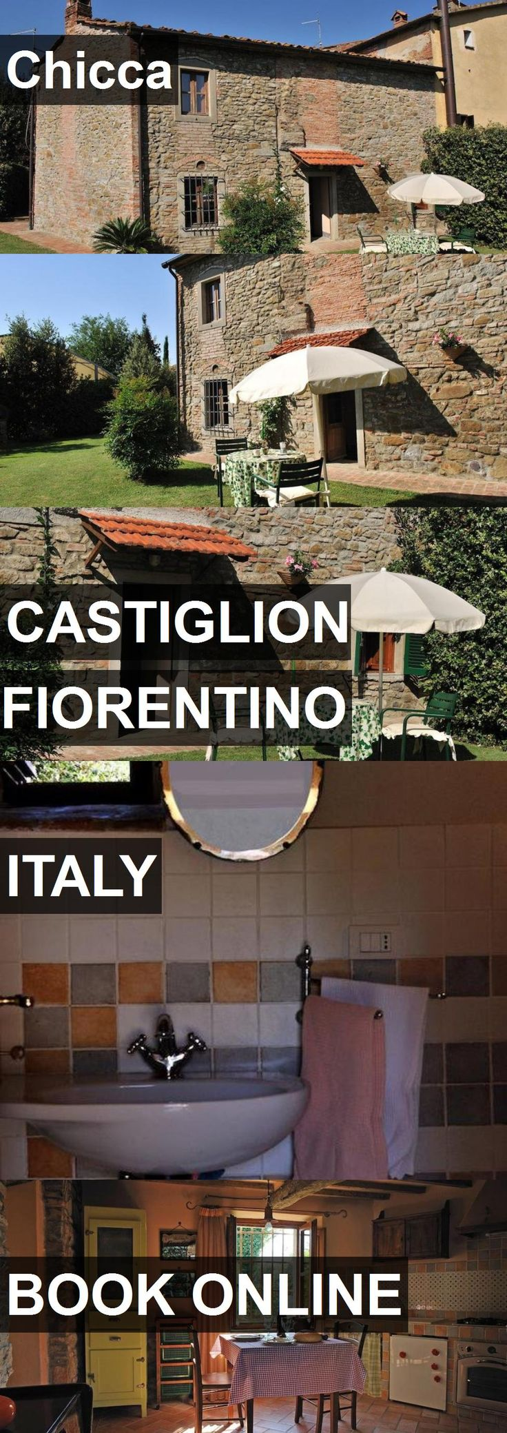 Hotel Chicca in Castiglion Fiorentino, Italy. For more information, photos, reviews and best prices please follow the link. #Italy #CastiglionFiorentino #travel #vacation #hotel