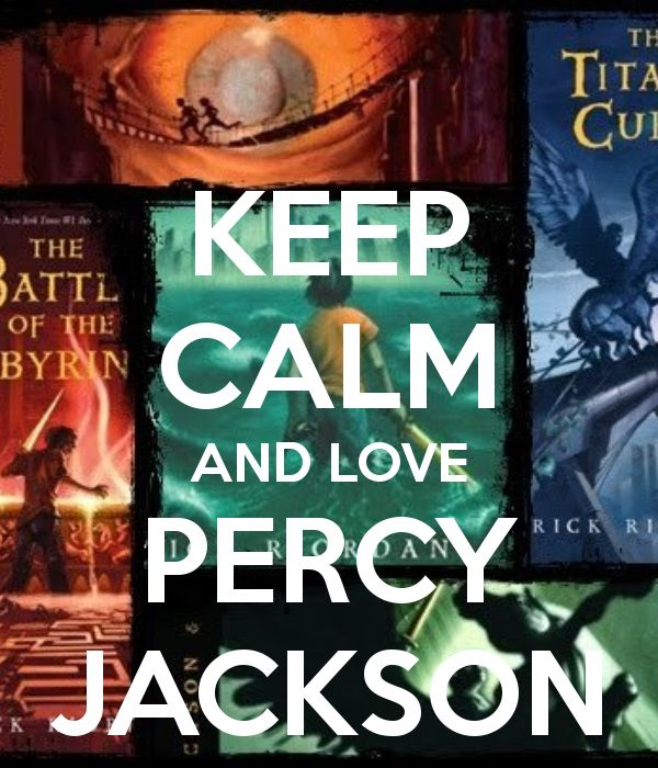 Keep calm and love Percy Jackson