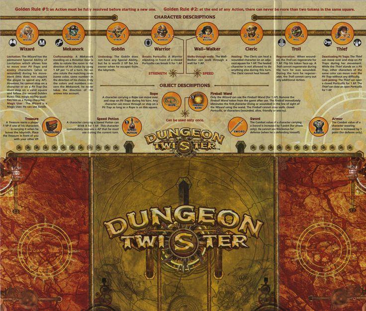 Dungeon Twister | Image | BoardGameGeek