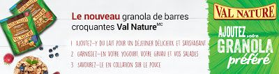 2$ en coupons rabais Val Nature