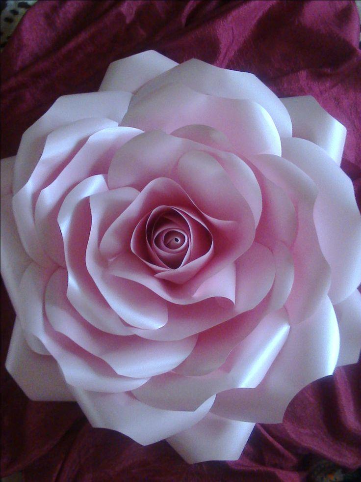 Моя первая роза из бумаги 75 см