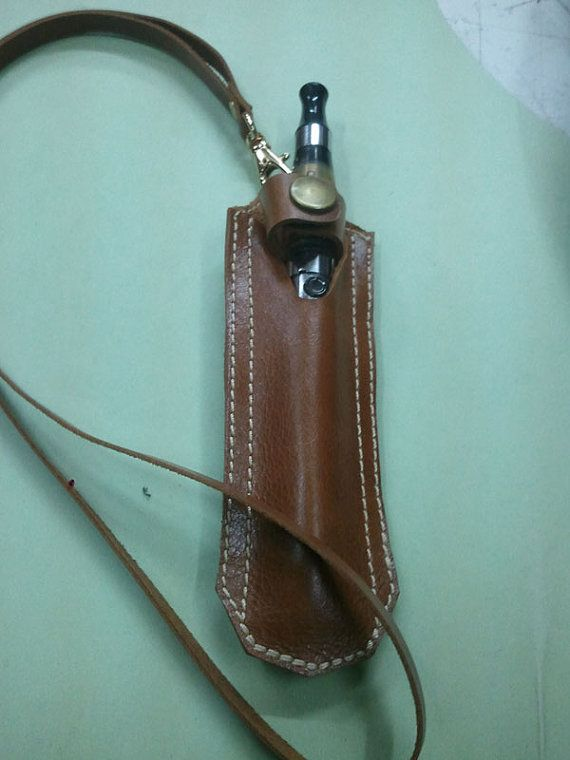 Electronic Cigarette Case Holder, E-Cigarette Carrying Case on Genunie Leather