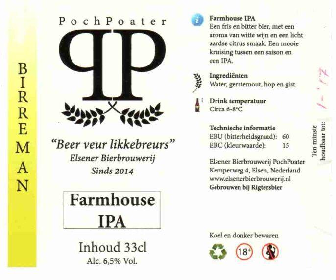 PochPoater Farmhouse IPA
