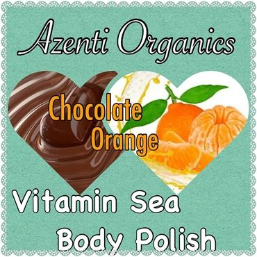 Organic Uplifting - Chocolate Orange Body Polish now available to pre-order on our website http://shop.azenti-organics.co.uk/category/53312-spa-treatments.aspx