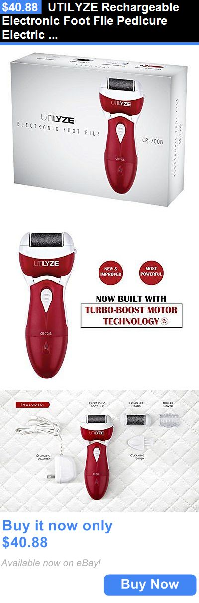 Manicure Pedicure Tools and Kits: Utilyze Rechargeable Electronic Foot File Pedicure Electric Callus Remover With. BUY IT NOW ONLY: $40.88