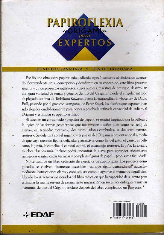 kunihiko kasahara y Toshie Takahama (Papiroflexia) - Origami para expertos 167_page167